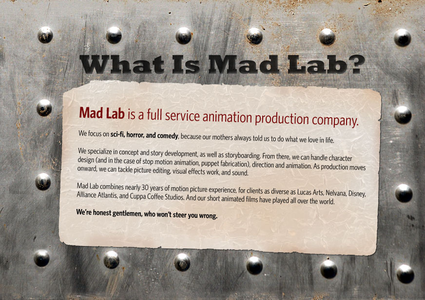 What is Mad Lab?